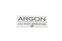 Argon Bottle Sticker