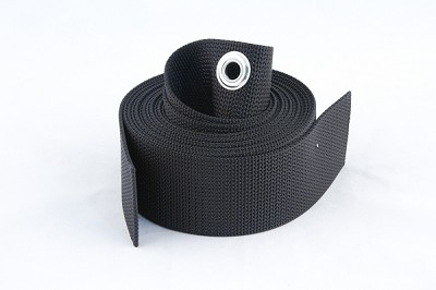 Backplate Webbing Replacement with Grommet